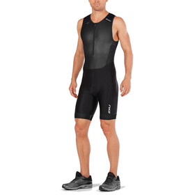 2XU Perform Front Zip Trisuit Men black/black